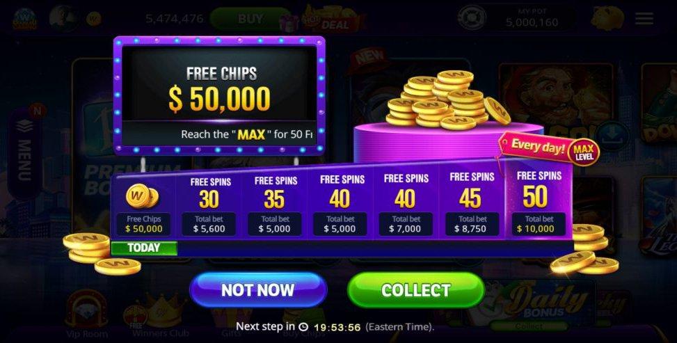 doubleu casino - daily prizes